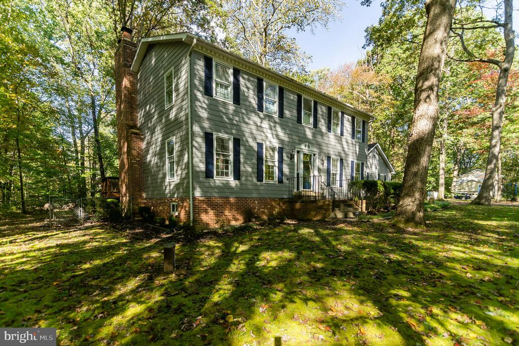 SIDE VIEW - 8052 COUNSELOR RD, MANASSAS