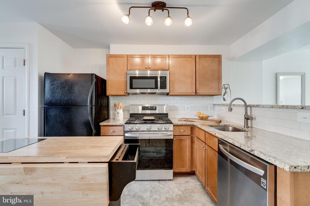 Kitchen - 1401 N VAN DORN ST #C, ALEXANDRIA