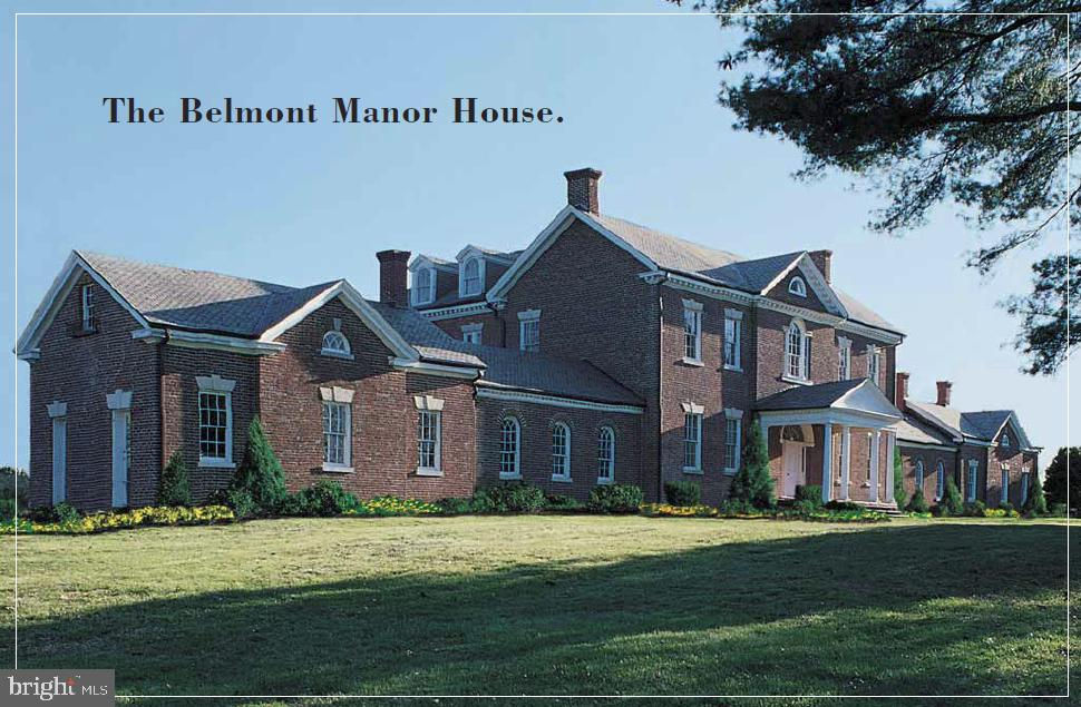 The Historic Belmont Manor House - 19658 OLYMPIC CLUB CT, ASHBURN