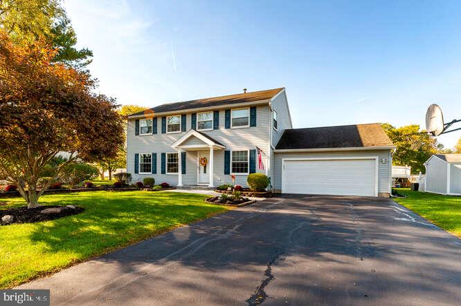 Single Family Homes 为 销售 在 汉密尔顿, 新泽西州 08690 美国