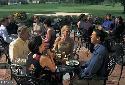 The Patio at the Club Overlooking the 18th Green - 19998 PALMER CLASSIC PKWY, ASHBURN