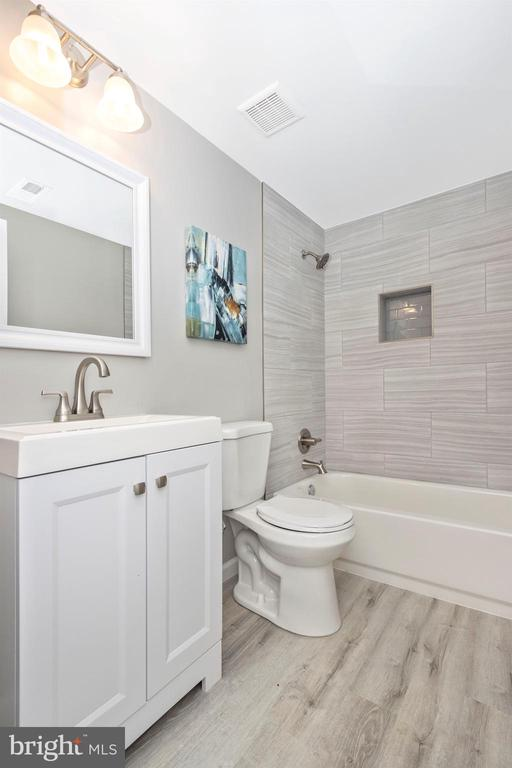 Lower Level Full Bathroom - 2575 THOMPSON DR, MARRIOTTSVILLE