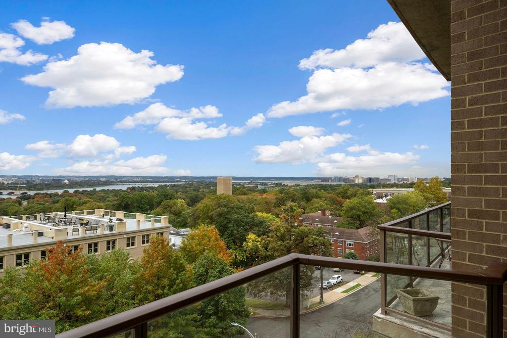 Balcony View - 1401 N OAK ST #608, ARLINGTON