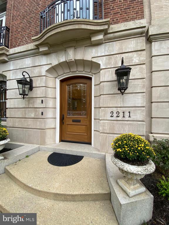 Elegant Entrance - 2211 MASSACHUSETTS AVE NW, WASHINGTON