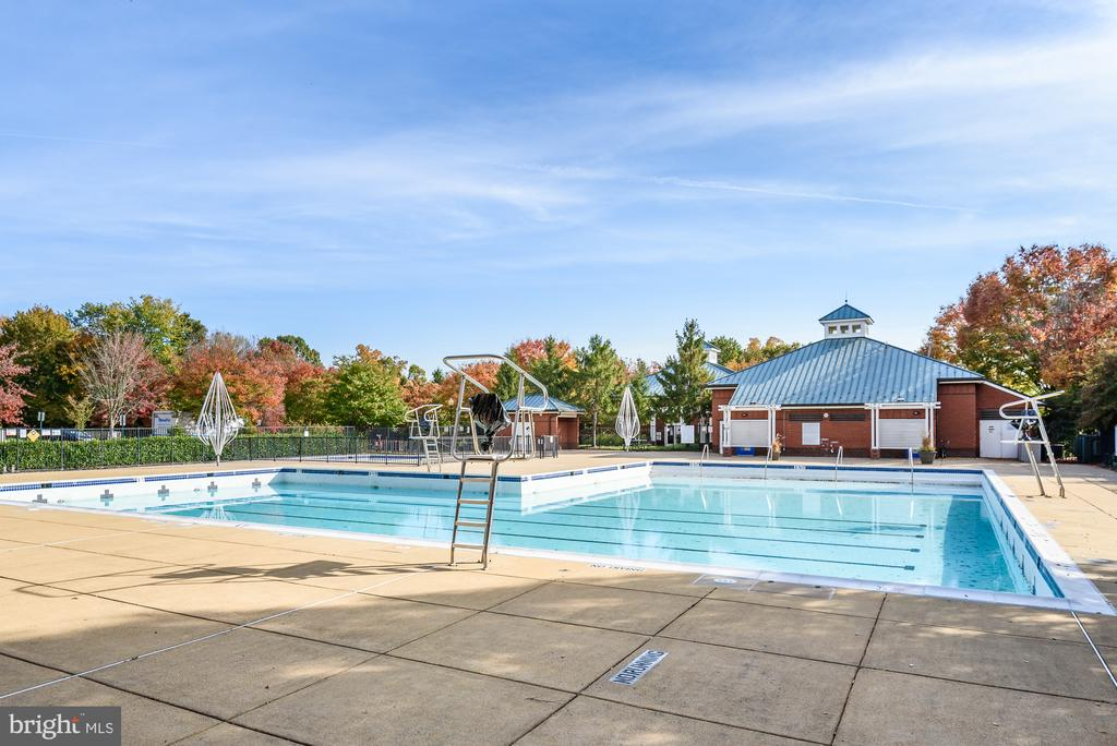 Gorgeous outdoor pool - 46377 PRYOR SQ, STERLING