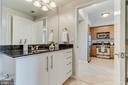 Freshly painted cabinets - 1021 N GARFIELD ST #714, ARLINGTON