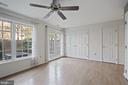 Large space for an office, rec room, or anything! - 1174 N VERNON ST, ARLINGTON
