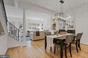 Sunny and spacious main level - 1174 N VERNON ST, ARLINGTON