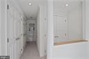 Hallway in master bedroom - 1174 N VERNON ST, ARLINGTON