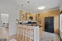 Updated kitchen right off dining/family room - 1174 N VERNON ST, ARLINGTON