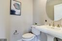 Main floor half bath - 224 N NELSON ST, ARLINGTON