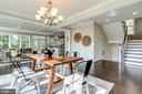 Bright and airy dining room - 224 N NELSON ST, ARLINGTON