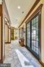 Hallway with outside view - 20448 OATLANDS CHASE PL, LEESBURG