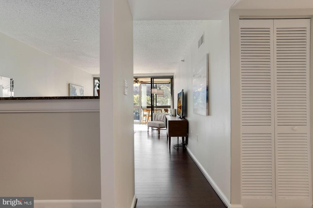 Front Door Entrance - Every Inch Freshly Painted! - 1001 N RANDOLPH ST #214, ARLINGTON