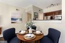 Dining Area - 1001 N RANDOLPH ST #214, ARLINGTON