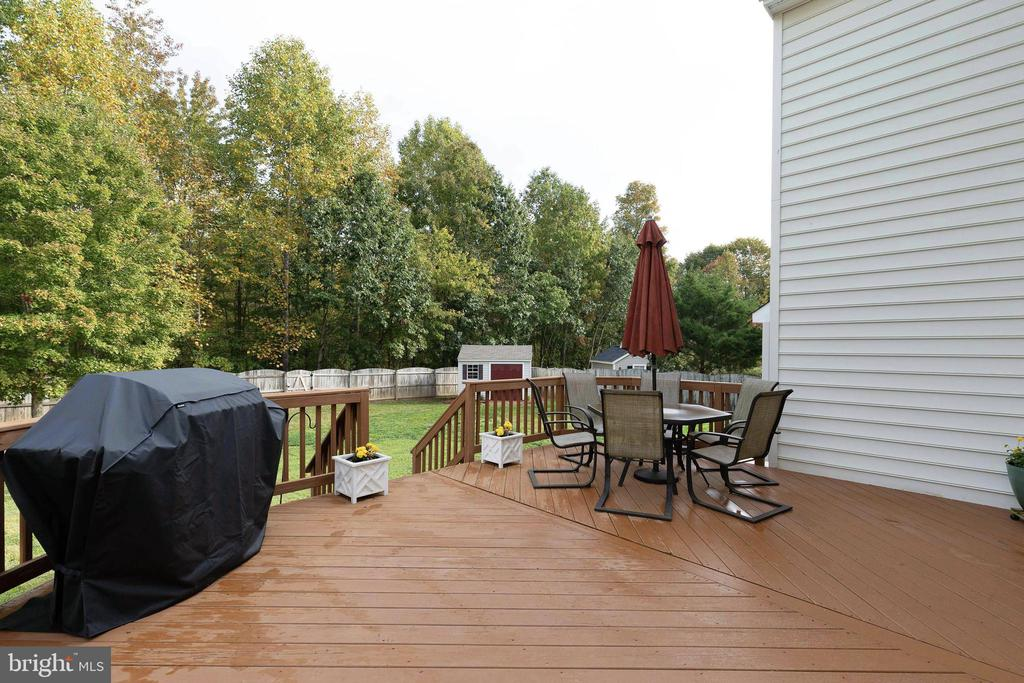 Deck and View - 48 BOULDER DR, STAFFORD
