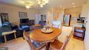 Large, open living and dining areas - 4 BLUEFIELD LN, FREDERICKSBURG