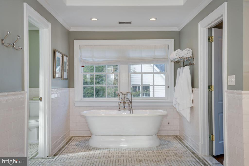 Luxurious Master Bath - 1201 TOWLSTON RD, GREAT FALLS