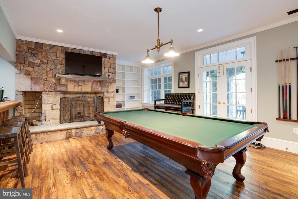 Billiards Room - 1201 TOWLSTON RD, GREAT FALLS