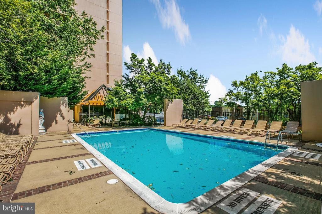 Private community pool - 1301 N COURTHOUSE RD #801, ARLINGTON