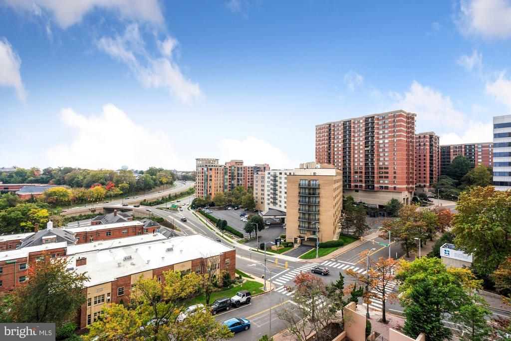 South & West views - 1301 N COURTHOUSE RD #801, ARLINGTON