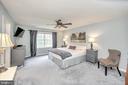 Primary bedroom is large - 20 VAN HORN LN, STAFFORD