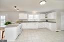 Your new kitchen,tile flooring! Beautiful views. - 20 VAN HORN LN, STAFFORD