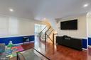 Gleaming hardwood floors - 3608 EAGLE ROCK CT, WOODBRIDGE