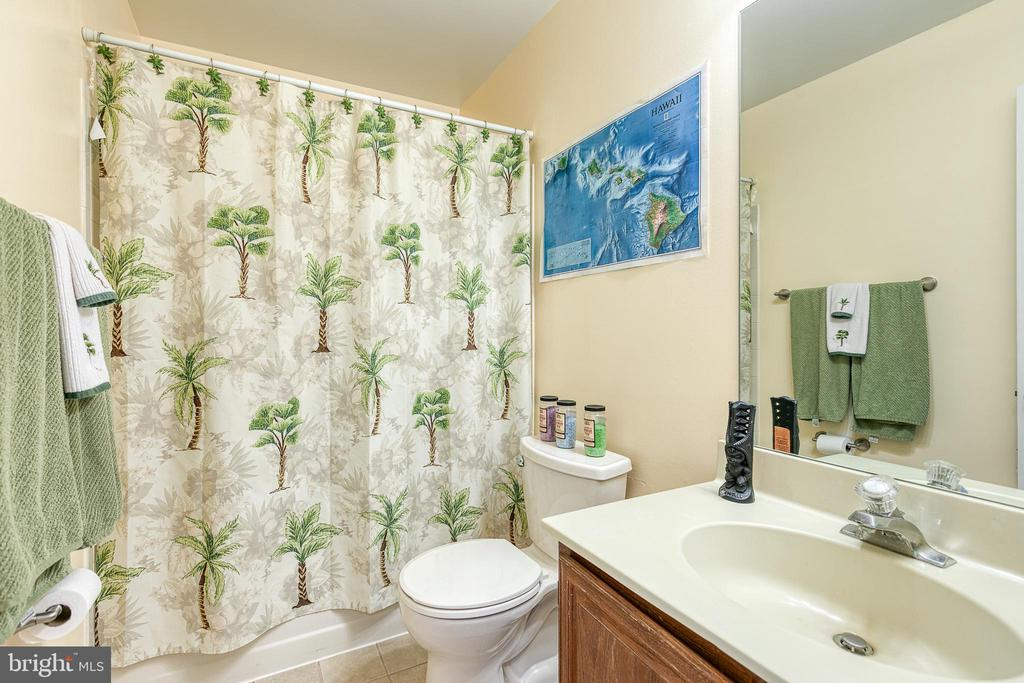 Guest Hall Bathroom - 3608 EAGLE ROCK CT, WOODBRIDGE