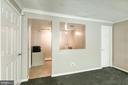 Entrance to hobby room - 3608 EAGLE ROCK CT, WOODBRIDGE