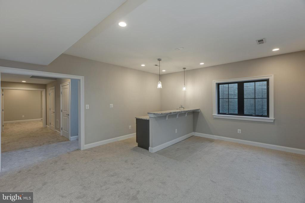 Fully Finished Lower Level - 7401 TOWER ST, FALLS CHURCH