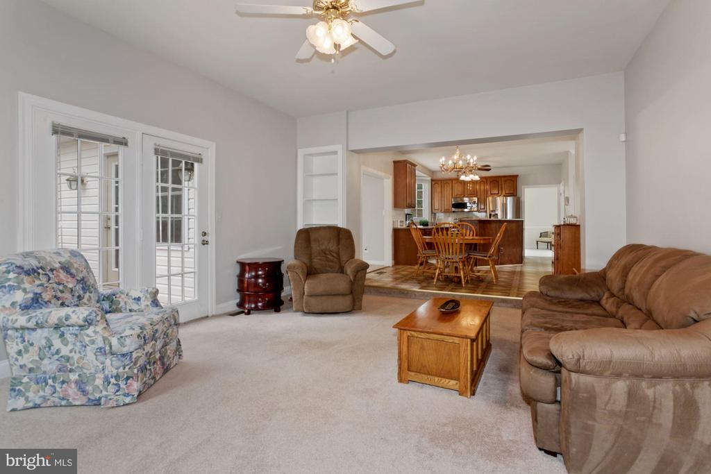 Family with French Doors to Deck - 10383 SESAME CT, MANASSAS