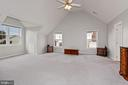 Primary Bedroom with Vaulted Ceiling - 10383 SESAME CT, MANASSAS