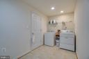 LARGE LAUNDRY ROOM - 30 FULTON DR, STAFFORD