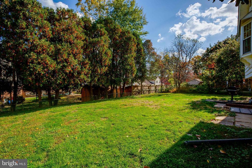 Backyard - 12813 LAYHILL RD, SILVER SPRING