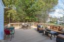Amazing deck backing to trees - 5 DARIAN CT, STERLING