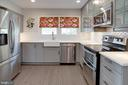 Stainless appliances, tile floors, recessed lights - 5 DARIAN CT, STERLING