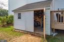 Large storage shed for bikes, tools and more - 5 DARIAN CT, STERLING