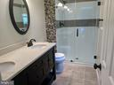 Owner's bath with 2 sinks and tiled shower - 5 DARIAN CT, STERLING