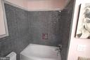 Beautiful tile work in owner's bath - 46580 DRYSDALE TER #300, STERLING