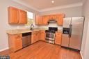 Kitchen - 248 KIRBY ST, MANASSAS PARK