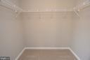 Primary Bedroom Walk-In Closet - 248 KIRBY ST, MANASSAS PARK