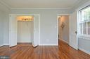 Bedroom offers great closet space - 1600 S BARTON ST #747, ARLINGTON