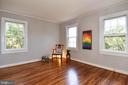 Bedroom features 3 large sunlit windows - 1600 S BARTON ST #747, ARLINGTON