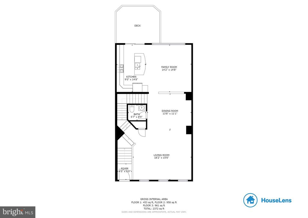 Main Level Floor Plan - 42762 KEILLER TER, ASHBURN