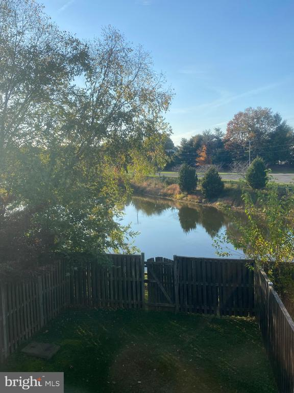 Pond View From The 2nd Level - 10206 MAGNOLIA GROVE DR, MANASSAS