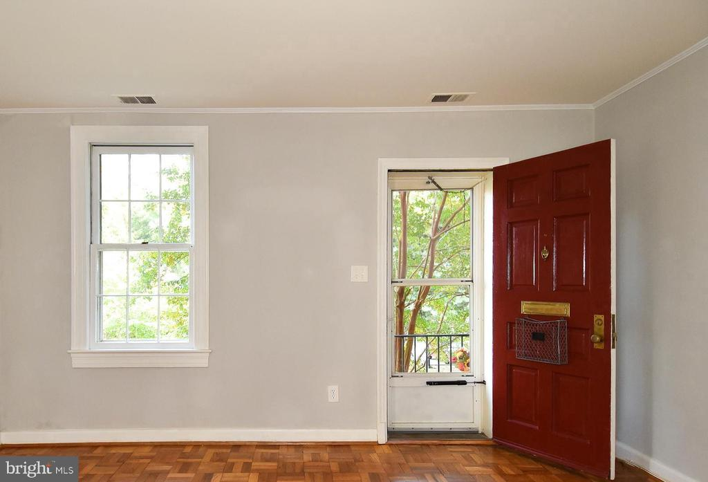 Great views of green space - 1600 S BARTON ST #747, ARLINGTON