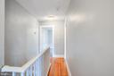Right side upstairs  hallway - 313 WOLFE ST, FREDERICKSBURG