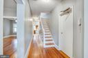 Left side hallway - 313 WOLFE ST, FREDERICKSBURG
