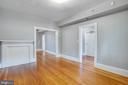 Left side Living room - 313 WOLFE ST, FREDERICKSBURG